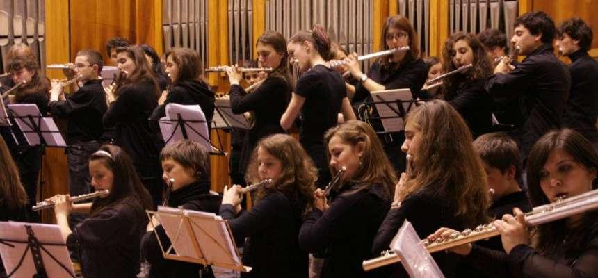 Flautisti in festa