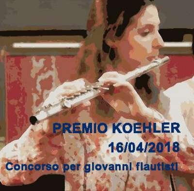- koehler a 400x393 - Premio Koehler Il Trillo concorso per giovani flautisti 3° ed. 16 aprile 2018