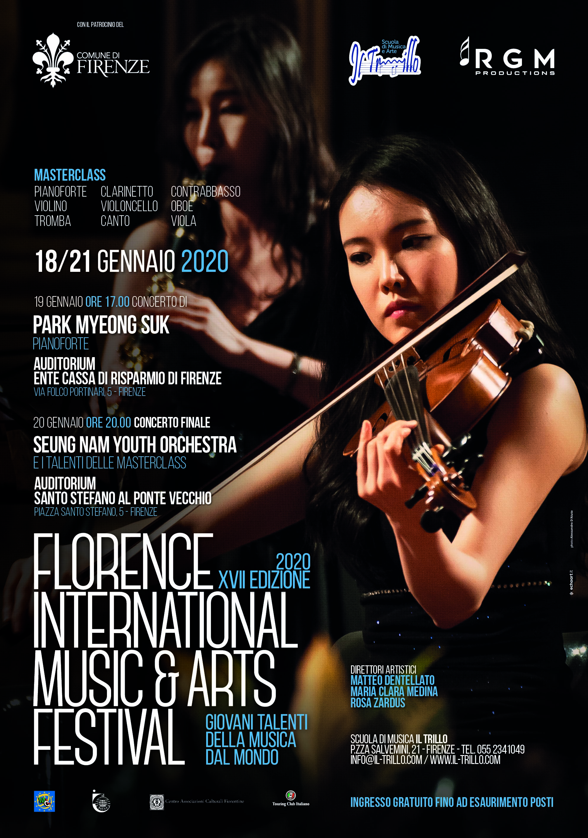 - 70x100bozza02b - Florence International Music and Arts Festival – XVII Edizione 2020