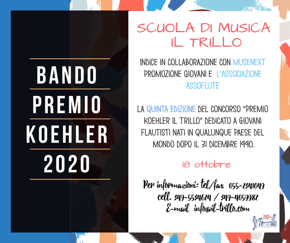 - Premio Koehler 2020 - PREMIO KOEHLER 2020 VEd.  - Premio Koehler 2020 - Home