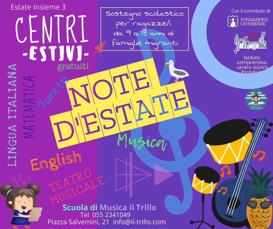 - Note destate - Note d'Estate – Centri Estivi  - Note destate - Home